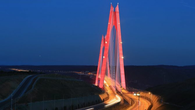 3. Bridge Of Istanbul – Yavuz Sultan Selim – HIOL-A High Intensity Aviation Obstruction Lights System