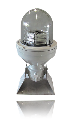 Dual L864-865-LXS-EX Exproof Medium Intensity Aviation Obstruction Light