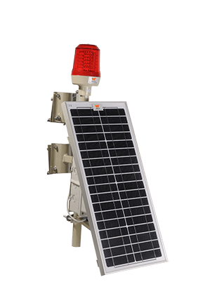 Wetra Single Solar Aviation Obstruction Light
