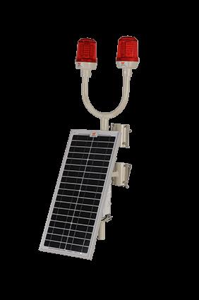 Wetra Twin Solar Aviation Obstruction Light